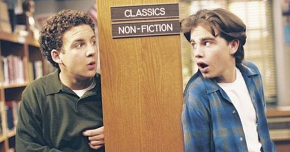 rider strong girl meets world Boy Meets World Star Teases Sequel Appearance   Should Shawn Return?