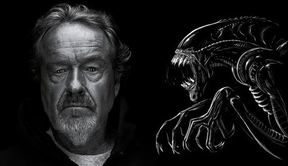 ridley scott alien prequels in 3d Franco & Hathaway Added to Alien Prequel Casting Rumors