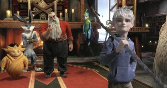 rise guardians trailer Rise of the Guardians Trailer #2: Childhood Myths Will Save the World