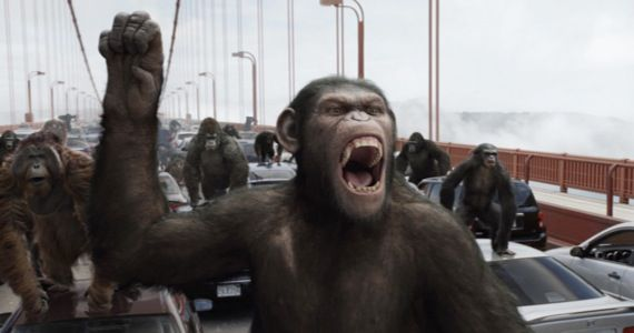 rise planet apes andy serkis New Release Dates for X Men: First Class 2, Thor 2, Rise of the Apes 2 & More