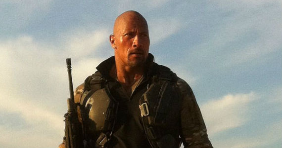roadblock gi joe desert Interview: Dwayne Johnson Bonded with Sergeant Slaughter for G.I. Joe 2; Talks Hercules