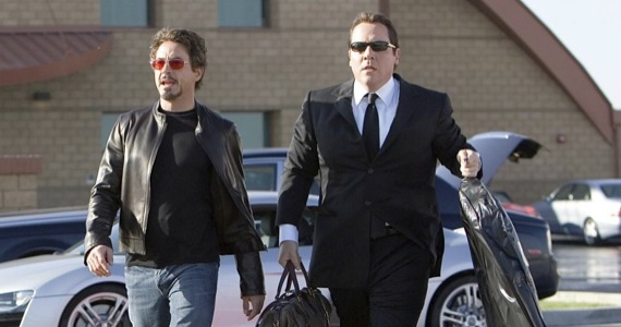 robert downey jr jon favreau chef Jon Favreau Talks Iron Man 3 Decision & Magic Kingdom
