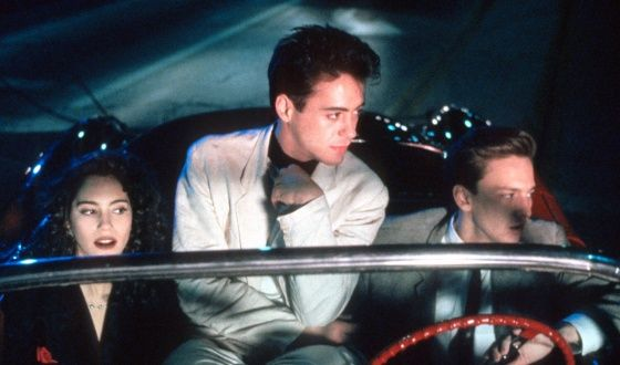 robert downey jr less than zero movie Iconic Moment In Cinema: Downey & Rourke in Iron Man 2