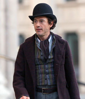 robert downey jr sherlock holmes ShoWest Update