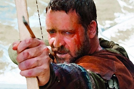 Russell Crowe in Robin Hood (review)