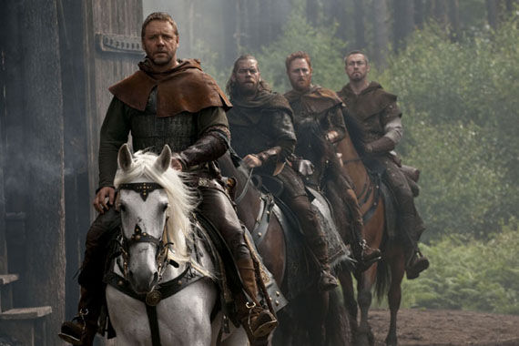 robin hood russell crowe and his merry men New Robin Hood Stills Featuring Maid Marian