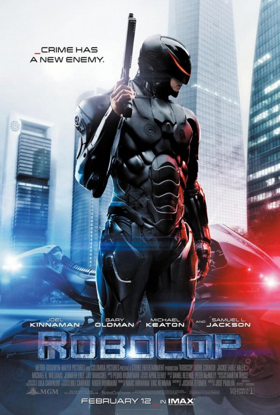 robocop movie 2014 poster 570x843 RoboCop Trailer #2: Meet the New Model of Police Officer