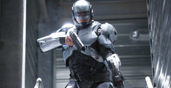 robocop movie 2014 trailer 570x294 First RoboCop Clip Shows Off Murphy's Battle Prowess