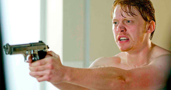 rupertgrint easytarget gunpoint Rupert Grint Starring in Superhero Comedy Pilot Super Clyde for CBS