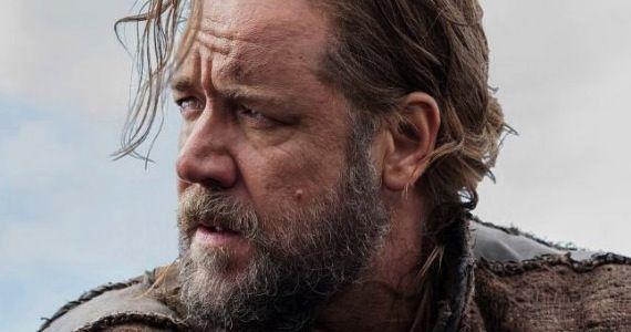 Russell Crowe as Darren Aronofsky's Noah