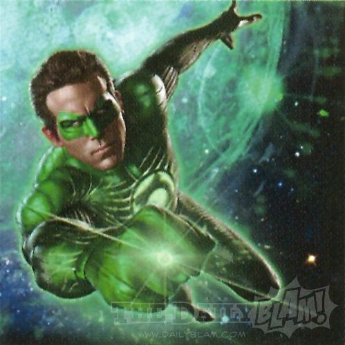 ryan reynolds green lantern promo art Ryan Reynolds as Green Lantern in new promo art