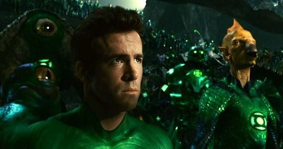 sad ryan reynolds in the green lantern corps Green Lantern: The Comic Books vs. The Movie