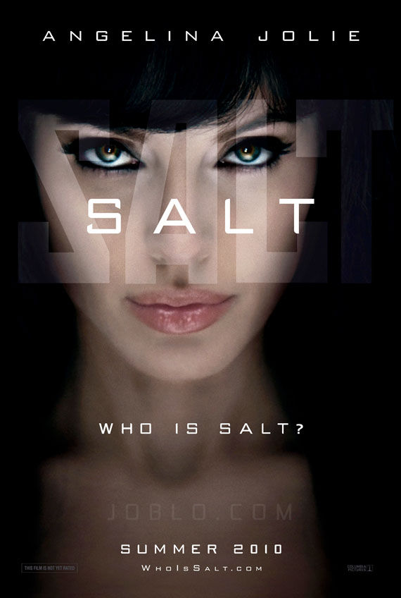 salt poster angelina jolie Poster Friday: Avatar, Kick Ass, Lost, Salt & More!