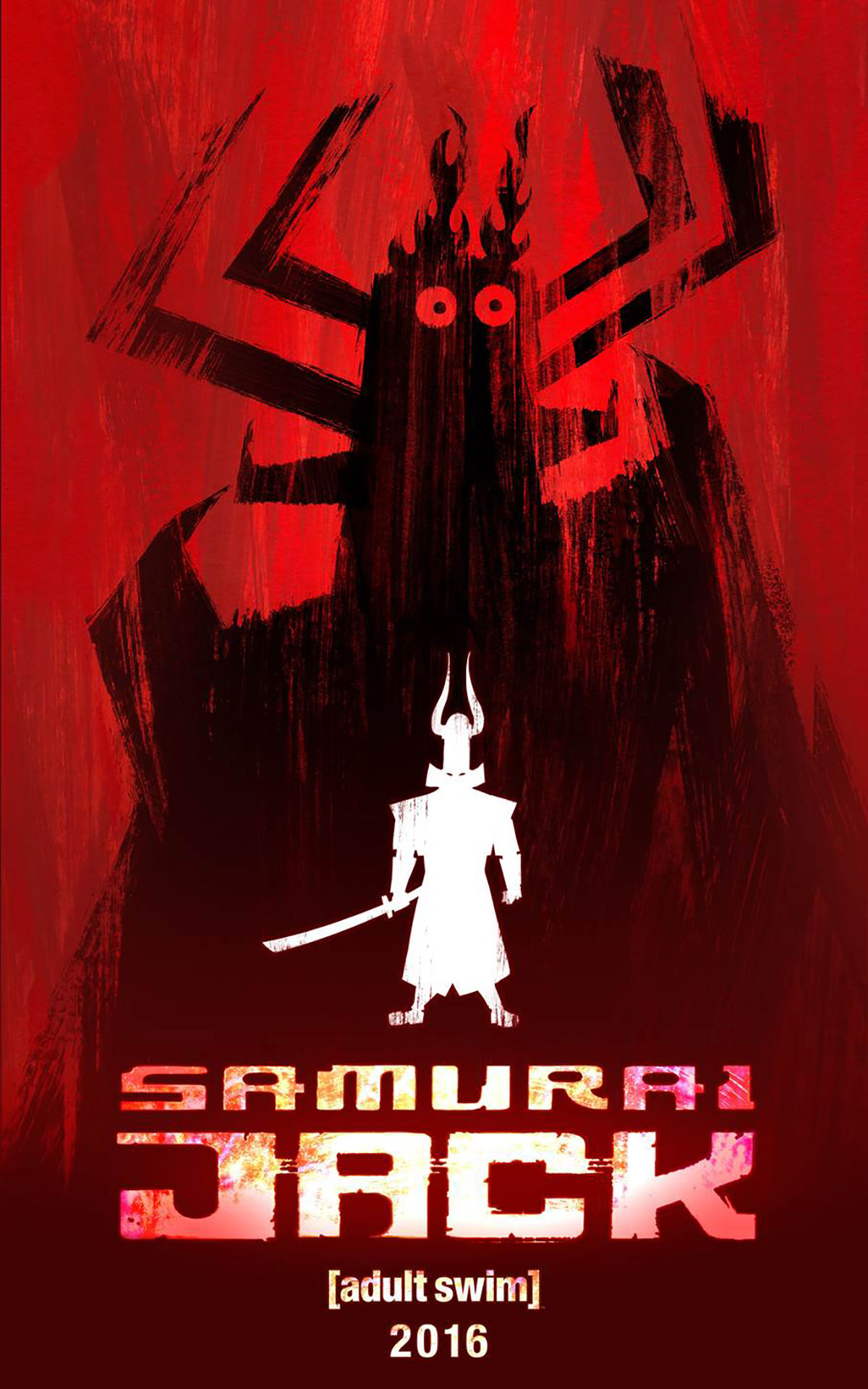 5 Revived TV Shows You Need to Watch in 2016! Samurai Jack adult swim cartoon network