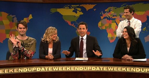 Seth Meyers' last Weekend Update