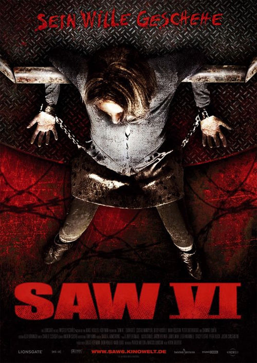 saw 6 poster 2 Poster Friday: Saw 6, Legion, Daybreakers, Parnassus & More!