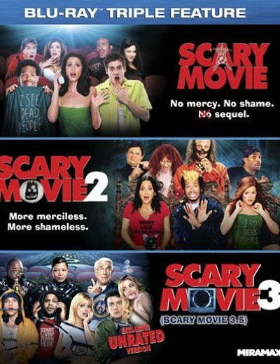 scary movie triple feature blu ray cover DVD/Blu Ray Breakdown: December 6, 2011