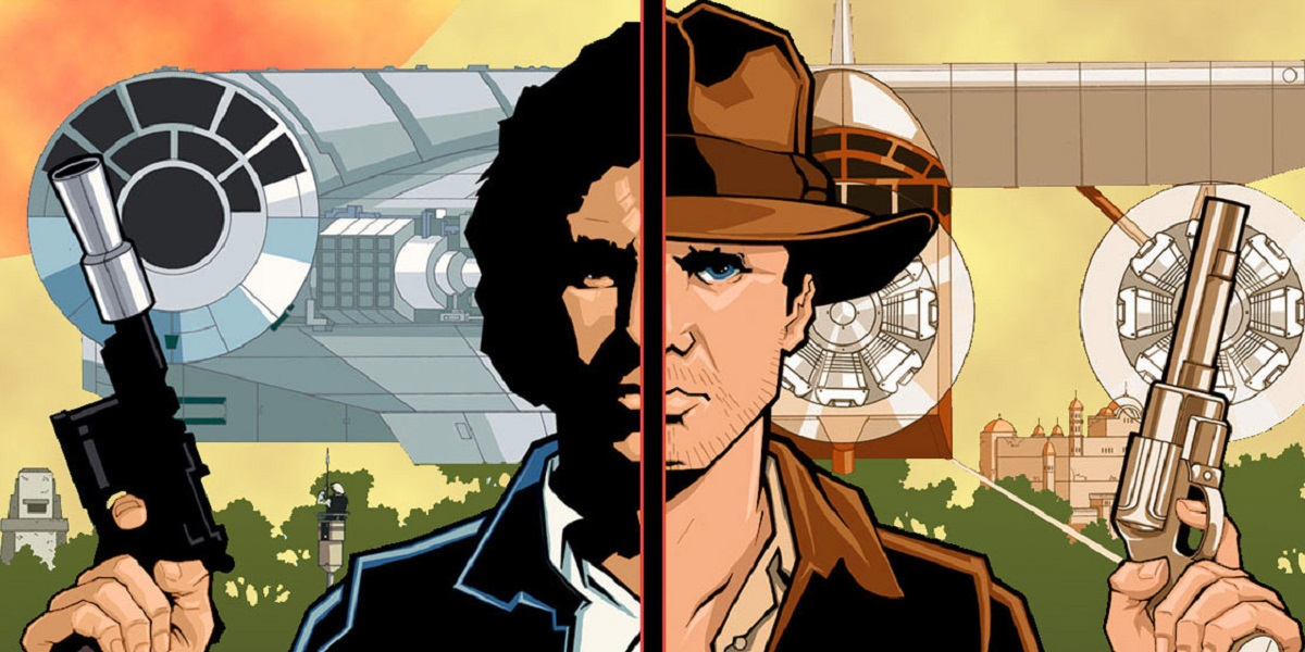 Indiana Jones and Han Solo in Star Wars