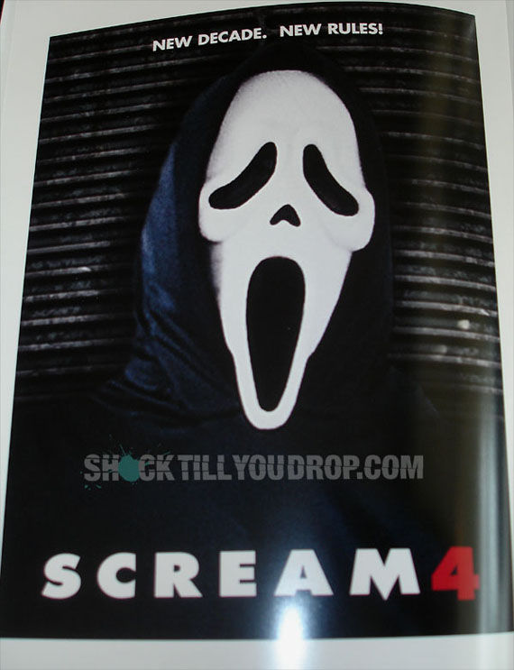 scream 4 poster Poster Friday: Kick Ass, Avatar, Green Zone, Wolfman & More!