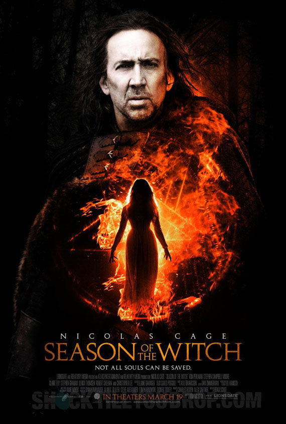 season of the witch poster Poster Friday: Clash of the Titans, Iron Man 2 & More!