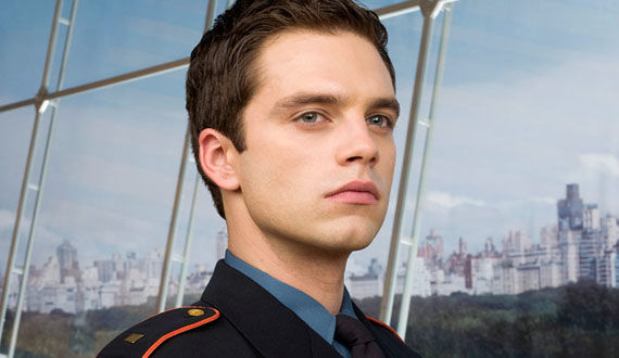 sebastian stan bucky captain america Sebastian Stan is Bucky in Captain America