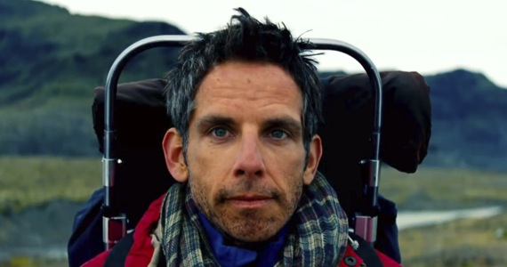secret life walter mitty ben stiller trailer New Secret Life of Walter Mitty Trailer & Early Reviews: Ben Stiller Sees the World