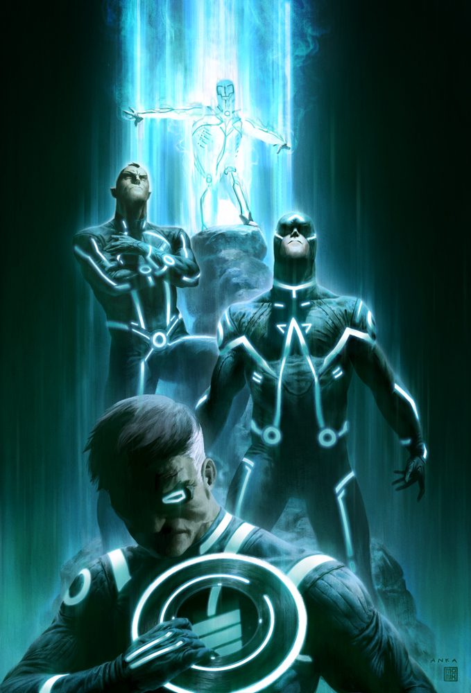 secret invaders by enymy d35gifa SR Geek Picks: TRON Style Marvel Characters, Best Zombie Movies of the 2000s & More