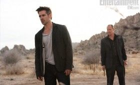 seven psychopaths movie image colin farrell woody harrelson 280x170 Seven Psychopaths Images: A Hollywood Tale of Crooks & Dognappers