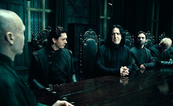 severus snape in harry potter deathly hallows 2 Major Character's Death Altered for 'Harry Potter Deathly Hallows: Part 2'