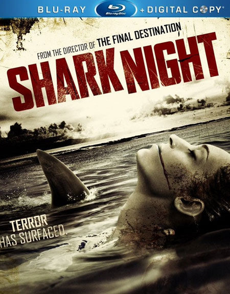 Shark Night Blu-ray Cover