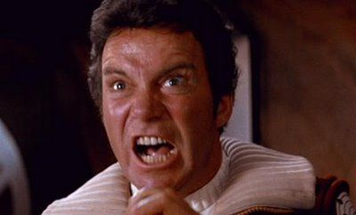 shatner angry Star Trek 2 to Be Post Converted 3D, Possibly IMAX; No TOS Cast Cameos?