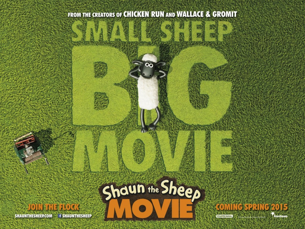 shaun sheep poster 1024x768 Aardman Animations Shaun the Sheep Gets a Trailer and Poster