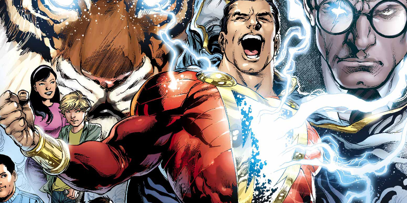 DC's Captain Marvel, aka Billy Batson, aka Shazam
