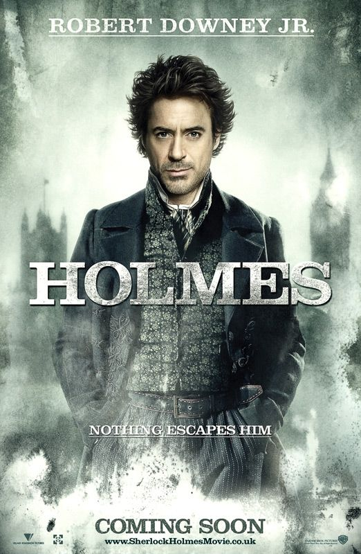 sherlock holmes poster holmes Screen Rants 2009 Fall Movie Preview