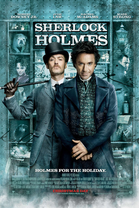 sherlock holmes robert downey jr poster Poster Friday: Smallville, Holmes, Fourth Kind, The Box & More!