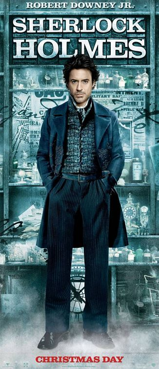 sherlock holmes robert downey jr tall poster Poster Friday: Clash of the Titans, Iron Man 2 & More!