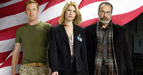 showtime homefront danes patinkin lewis First Look: Mandy Patinkin & Claire Danes in Showtimes Homeland