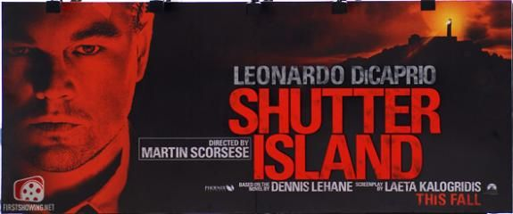 shutter island cannes poster New Movie Posters Premiere At Cannes