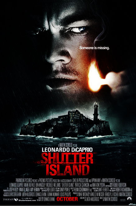 shutter island poster New Posters: 2012, Shutter Island And Saw VI
