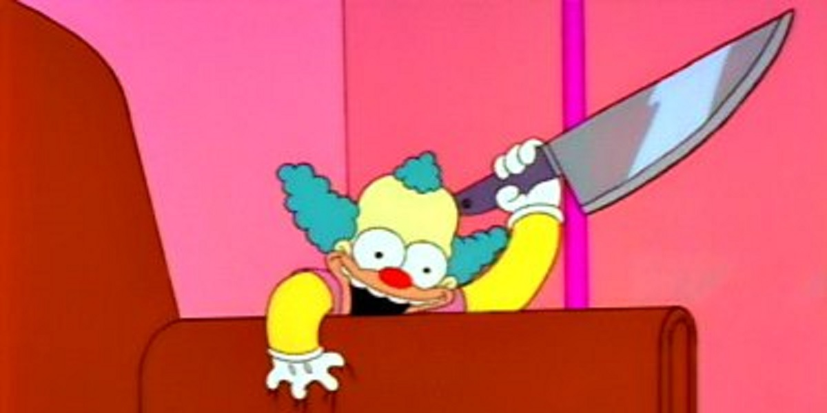 The 10 greatest simpsons treehouse of horror stories of - Clown simpson ...