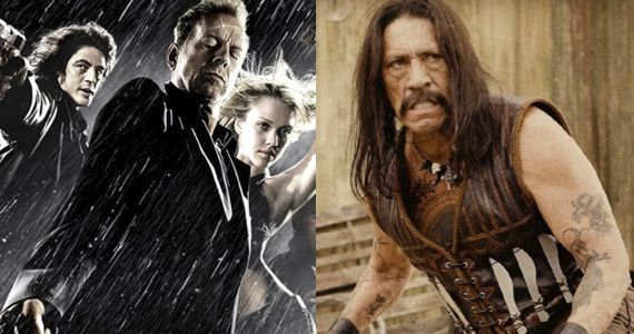 sin city 2 machete kills production 2012 Robert Rodriguez To Shoot Both Sin City 2 & Machete Sequel This Year