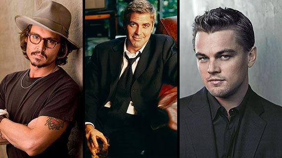 sinatra biopic johnny depp george clooney and leonardo dicaprio Depp, Clooney and DiCaprio Battling For Sinatra Role