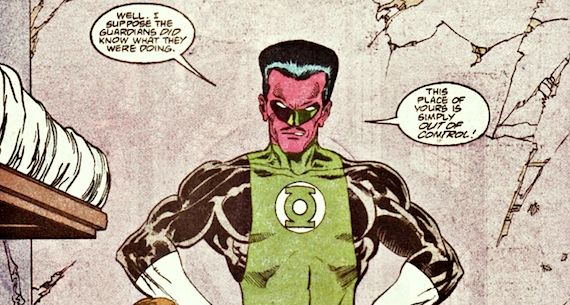 sinestro the greatest green lantern of all Green Lantern: The Comic Books vs. The Movie