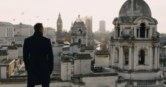 skyfall james bond trailer Skyfall Clip Shows James Bond & Trains Dont Mix