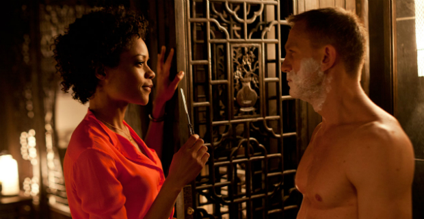 skyfall naomie harris daniel craig James Bond 24 Production Delayed by Script Rewrite?