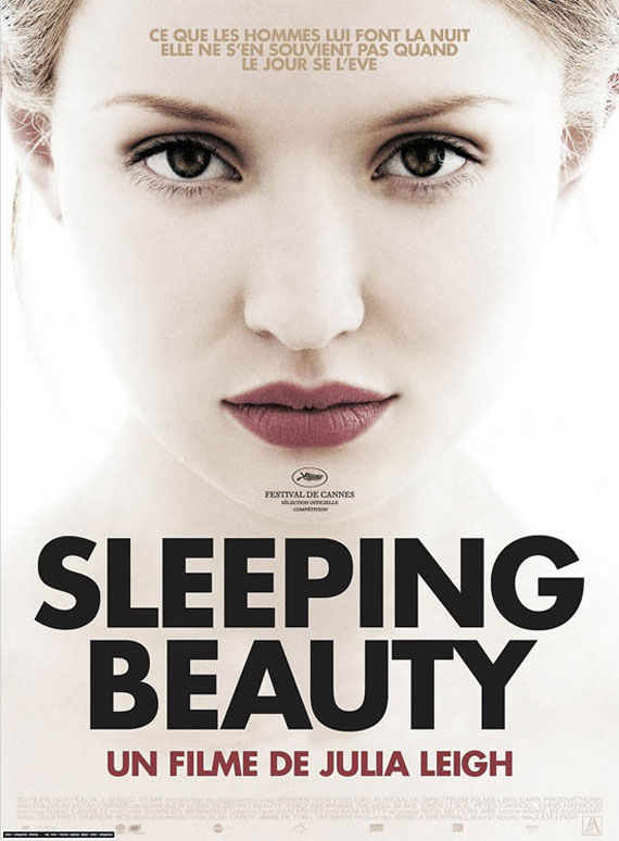 sleeping beauty poster 1 Movie Poster Roundup: Conan the Barbarian, Real Steel & More