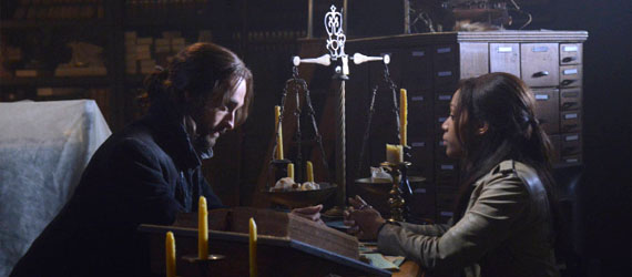 sleepy hollow episode 2 sandman Sleepy Hollow Forces Abbie to Face The Sandman