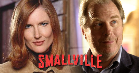 small martha perry Smallville: Martha Kent & Perry White Return