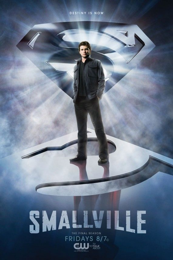 smallville season 10 superman 570x855 Smallville: Destiny Is Now Promo Art