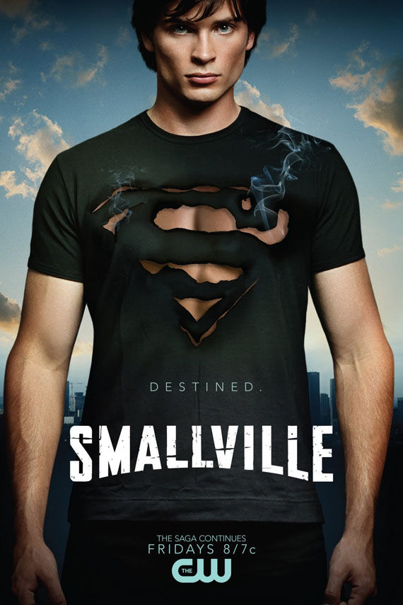 smallville season 9 poster clark kent superman Poster Friday: Smallville, Holmes, Fourth Kind, The Box & More!